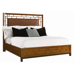 Tommy Bahama Home Ocean Club Queen Paradise Point Bed