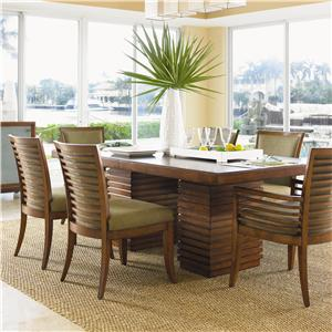 Tommy Bahama Home Ocean Club 7 Piece Table & Chair Set