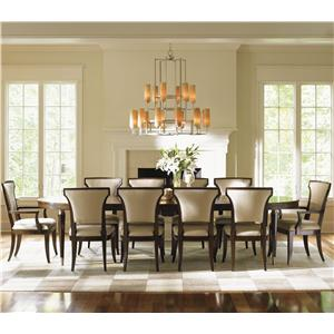 Lexington Tower Place 11 Piece Dining Set with Drake Table