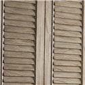 Lexington Twilight Bay Hartley Cabinet - Beautiful Full-Length Louvered Doors
