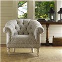 Lexington Twilight Bay Mallory Chair - Shown with Veronica Console