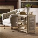 Lexington Twilight Bay Mallory Chair - Shown with Olivia Tray Table