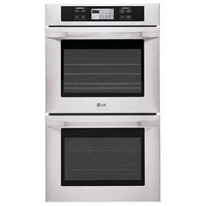 """LG Appliances LG Studio Series 30"""" Built-In Double Electric Wall Oven"""
