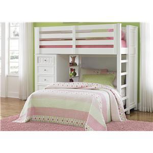 Liberty Furniture Kaleidoscope Twin Loft Bed