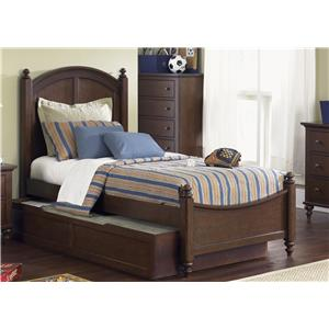 Liberty Furniture Abbott Ridge Youth Bedroom Full Trundle Bed
