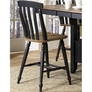 Liberty Furniture Al Fresco II Slat Back Counter Height Chair