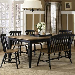 Liberty Furniture Al Fresco II 6 Piece Dining Table and Chairs Set