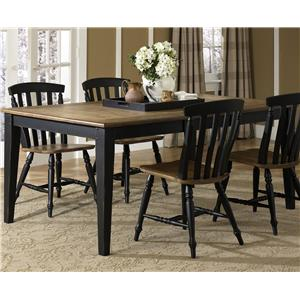 Liberty Furniture Al Fresco II Rectangular Leg Table