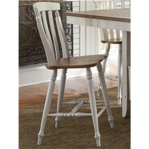 Liberty Furniture Al Fresco III Slat Back Counter Height Chair