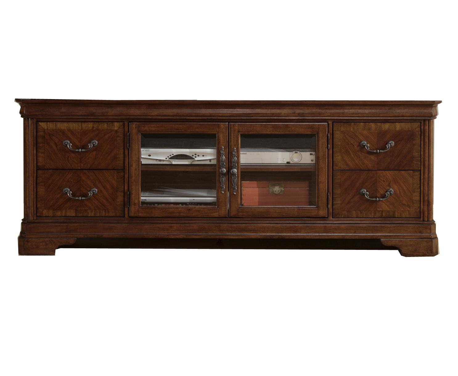 2 Door Entertainment Tv Stand With Drawers By Liberty Furniture Wolf And Gardiner Wolf Furniture
