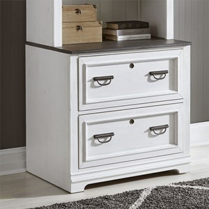 Transitional Two-Toned Lateral File