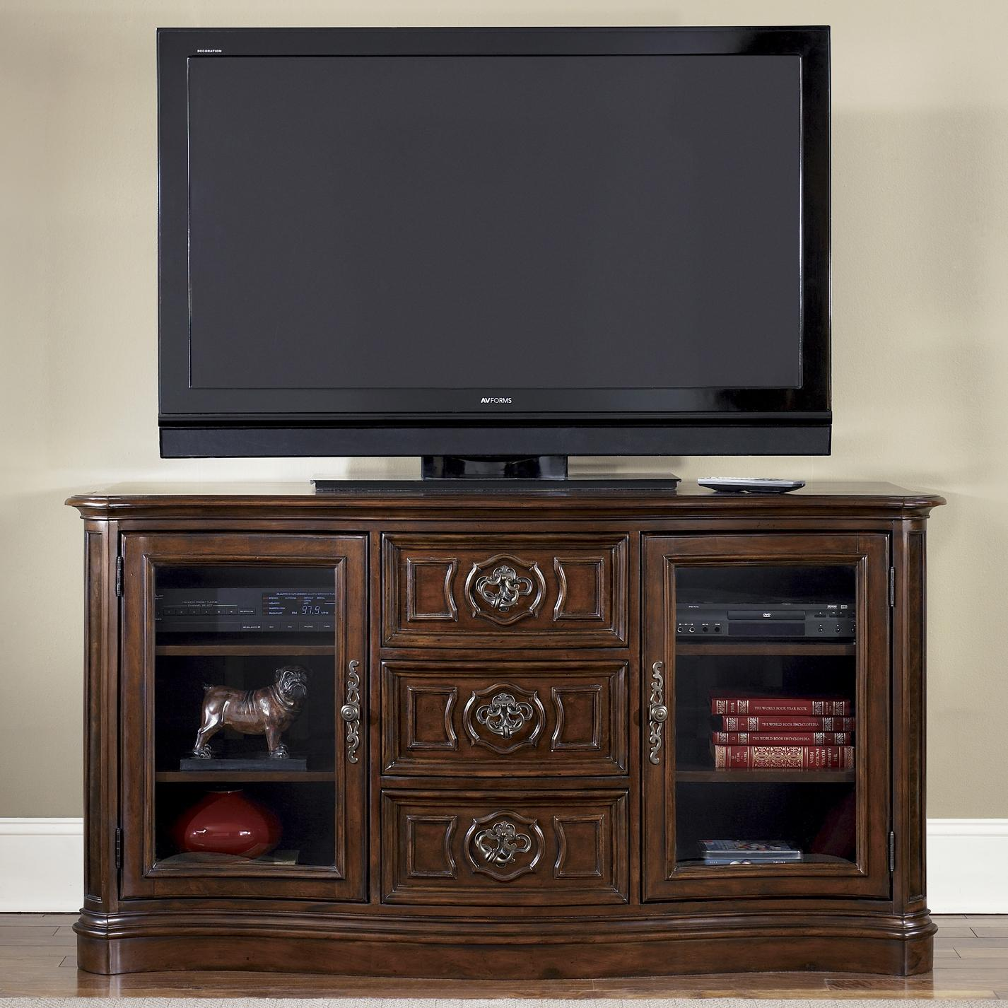 2 Door 3 Drawer Tv Entertainment Console By Liberty Furniture Wolf