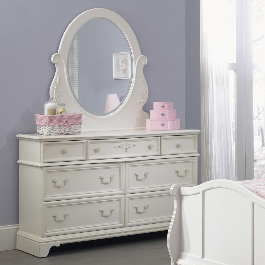 bedroom dressers with mirror. 7 Drawer Dresser  Oval Mirror by Liberty Furniture Wolf and