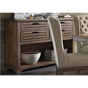 Dining Server with Dovetail Drawers