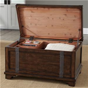 Liberty Furniture Aspen Skies-Occ Storage Trunk