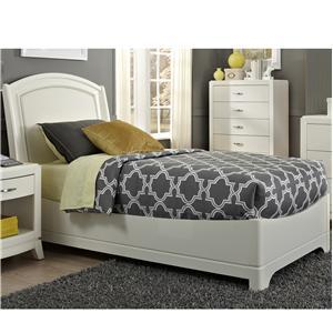 Vendor 5349 Avalon II Full Leather Bed