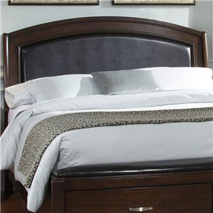 Liberty Furniture Avalon Queen Platform Leather Headboard