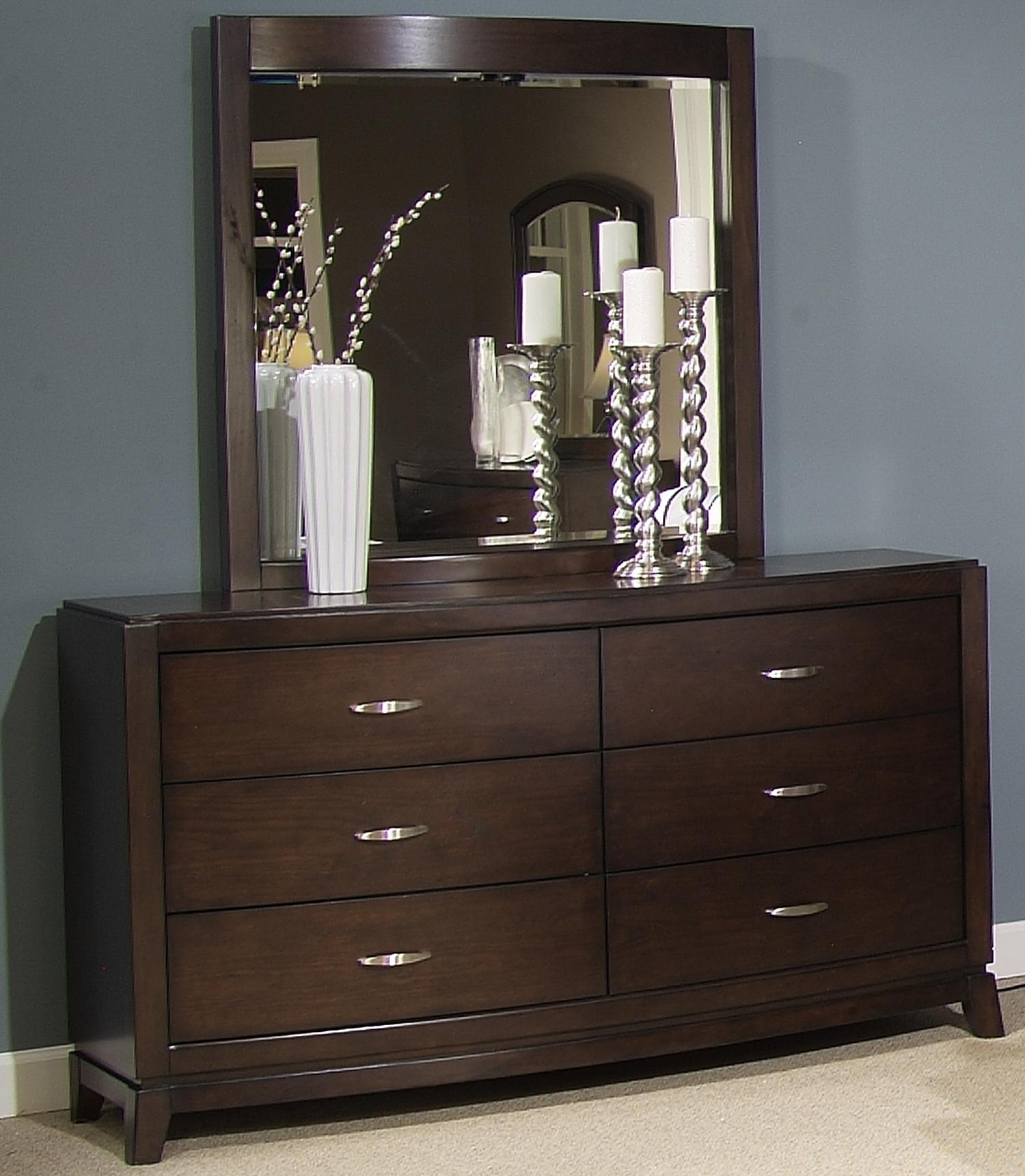Dresser   Lighted Mirror Set. Dresser   Lighted Mirror Set by Liberty Furniture   Wolf and