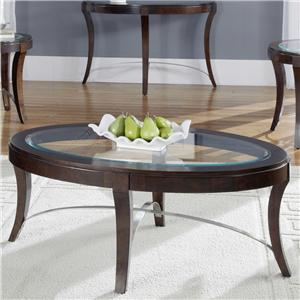Liberty Furniture Avalon Oval Cocktail Table