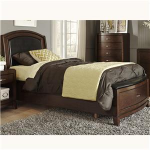 Vendor 5349 Avalon Twin Storage Bed