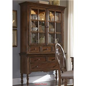 Liberty Furniture Barrett Lakes Server & Hutch