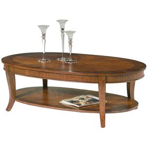 Liberty Furniture Bradshaw Oval Cocktail Table