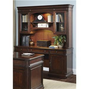 Liberty Furniture Brayton Manor Jr Executive Credenza and Hutch