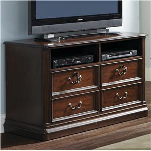 Liberty Furniture Brayton Manor Jr Executive Media Lateral File