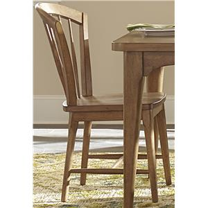 Liberty Furniture Candler Dining Windsor Chair with Tapered Legs