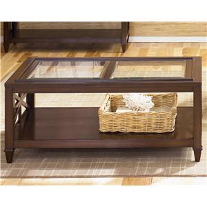 Liberty Furniture Caroline Rectangular Cocktail Table