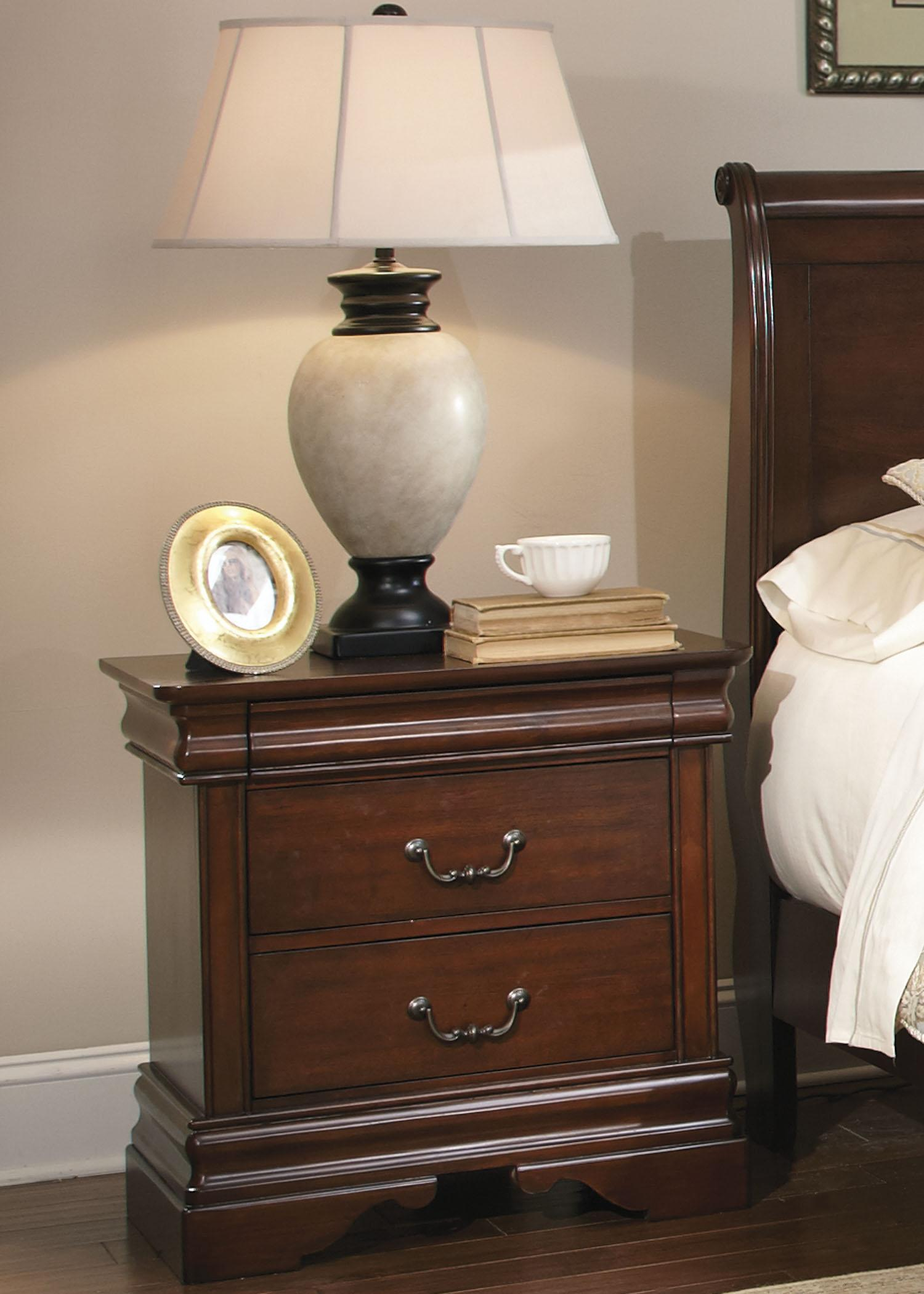 Queen Sleigh Bed Dresser Amp Mirror N S By Liberty