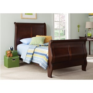 Youth Full Sleigh Bed