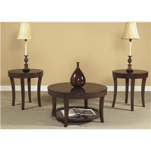 Vendor 5349 Casual Living 168 3 Pack Occasional Tables
