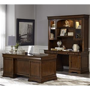 Vendor 5349 Chateau Valley 5 Piece Jr Executive Set