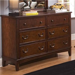 Vendor 5349 Chelsea Square Youth Double Dresser