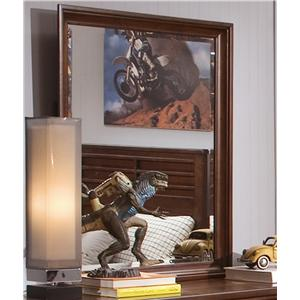 Beveled Vertical Mirror