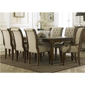 Liberty Furniture Cotswold  9 Piece Rectangular Dining Table Set