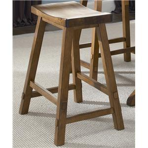 Liberty Furniture Creations II 30 Inch Sawhorse Barstool