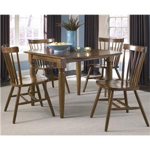 Dinette Table with Two Drop Down Leaves