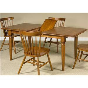 Dining Table with One 12 Inch Leaf