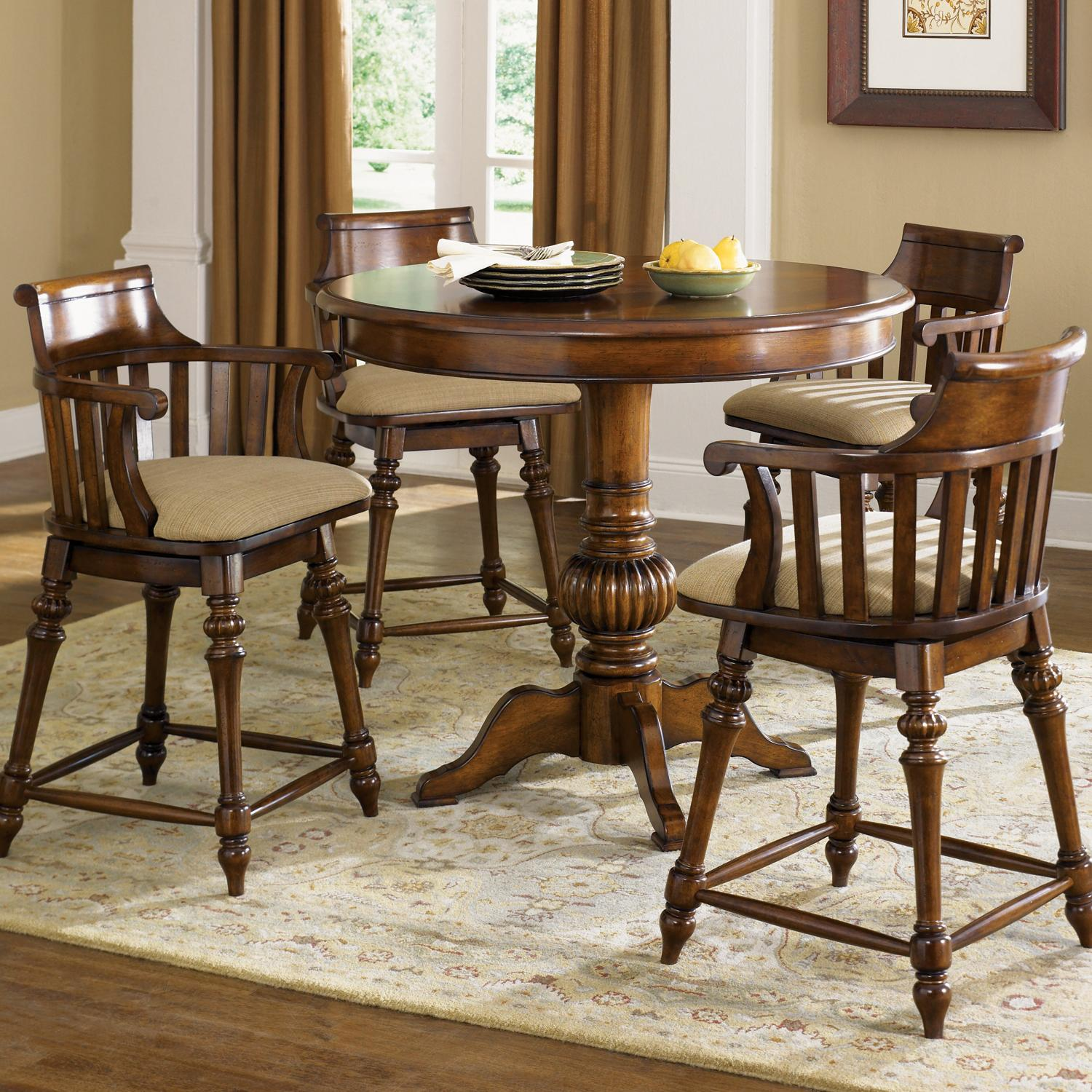 Counter Height Bistro Table Set