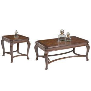 Vendor 5349 Ellington 3 Piece Occasional Table Set