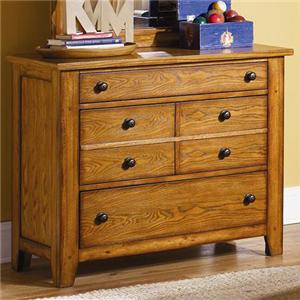 Vendor 5349 Grandpa's Cabin Three Drawer Dresser