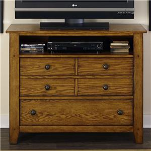 Media Chest with 2 Drawers