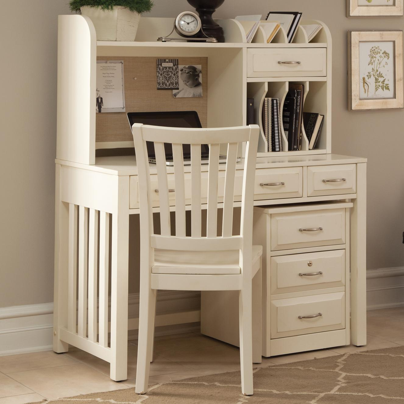 Home Office Desk With Hutch By Liberty Furniture Wolf