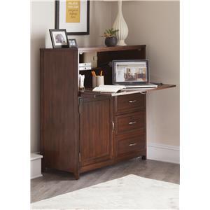Vendor 5349 Hampton Bay  Computer Cabinet