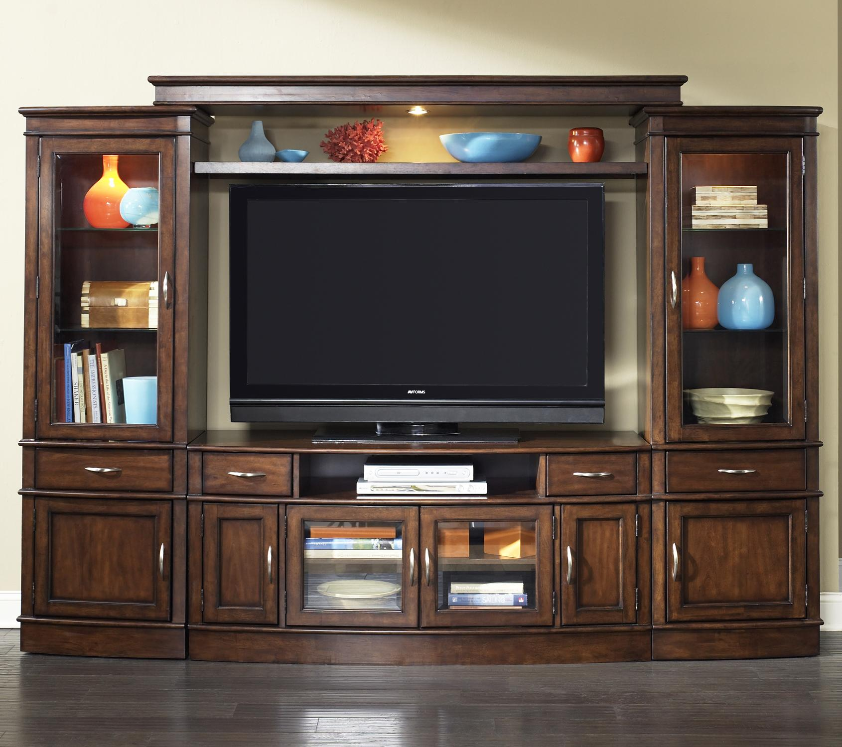 Complete TV Entertainment Center by Liberty Furniture | Wolf and Gardiner Wolf Furniture