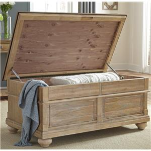 Cedar Lined Storage Trunk
