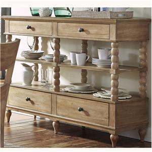 Liberty Furniture Harbor View Serving Table