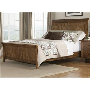 Liberty Furniture Hearthstone Queen Sleigh Bed